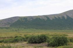 A valley in the Kigluiak Mountains on the Seward Peninsula. Photo
