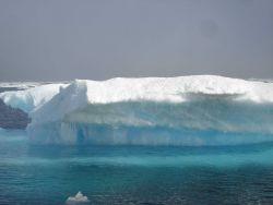 Multi-year ice melting. Photo