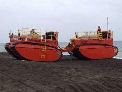 Arktos Evacuation Craft on land at Point Barrow Image