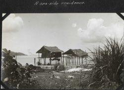 A seaside residence on tropic seas. Image