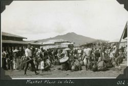 The market place in Jolo. Photo