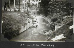 Monday must have been wash day at Zamboanga. Photo