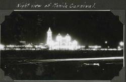 A night view of the Manila Carnival. Image