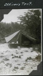 An officer's tent at Station Usada Image