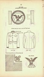 Belt plate, cap device and other uniform paraphernalia of USC&GS Photo