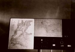 Coast and Geodetic Survey charting exhibit. Photo
