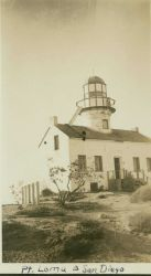 The Point Loma Lighthouse, used as triangulation station Photo