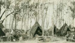 The camp at Sacramento Photo