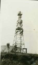 Airplane beacon, one of many located by the party of Lieutenant George L Photo