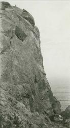 A dangerous climb to Hawk Peak Image