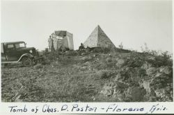 Observing party at Station Posten which is located on Poston Butte Photo