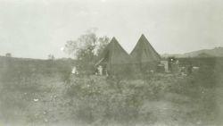 Camp near Wintersburg in December 1934 Photo