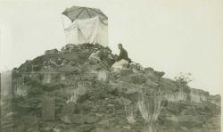 Observing tent set up at Station Bursom. Photo
