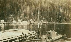 Alaska coastal scene. Image