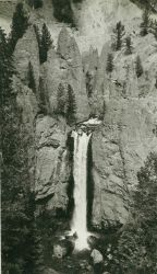 A view of Tower Falls, Yellowstone National Park Image