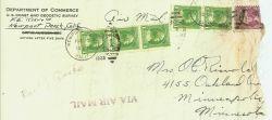 Floyd Risvold's letter home describing the Long Beach earthquake destruction of 1933 Photo