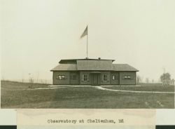The Cheltenham Magnetic Observatory. Photo