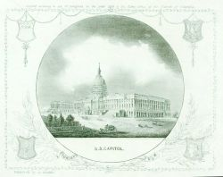 Engraving of the U.S Photo