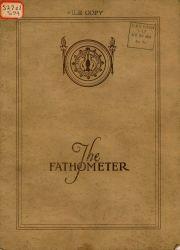 1927 advertising brochure for Submarine Signal Company Fathometer. Photo