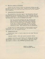 Page 4 of instructions for what to do following an atomic attack. Photo