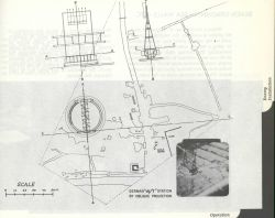 German W/T (wireless-telegraphy) transmitter antennas located by photogrammetry. Photo