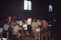 Supper in the armory Photo