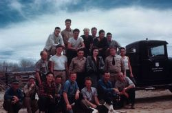 Crew group photo - Messamer, Riggs, Huoy, Wolfe, Wiggins, Lovett, Wildman, Luloff, Newton, Shaw, Blanche, Marshall, Sternberg, N Photo