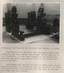 Installation of Harris-Offset Press Photo