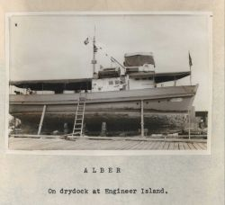 Philippine Coast and Geodetic Survey ship ALBER Photo