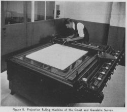 Projection ruling machine of the Coast and Geodetic Survey Photo