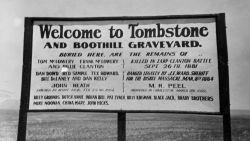 Welcome to Tombstone and Boothill Graveyard Photo