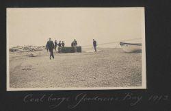 The coal barge at Goodnews Bay Photo