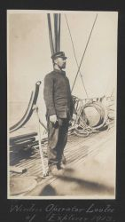 Wireless operator Lovlee of the USC&GS Ship EXPLORER Photo