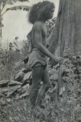 Son of tribal chieftain used as guide by Coast and Geodetic Survey officers in remote area of the Philippine Islands. Photo