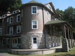 Arisbe, home of Charles Sanders Peirce in Milford, Pennsylvania. Photo