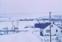 Alaska 1964 Good Friday earthquake and tsunami damage. Photo