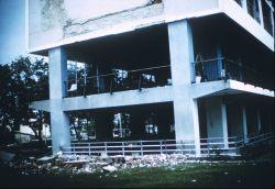 Unidentified earthquake damage image. Photo