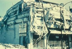 Unidentified earthquake damage image. Photo