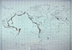 Map of Earthquakes 1966 Photo