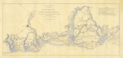 Map of Portions of Seacoast of South Carolina and Georgia in Possession of the United States, December 12th 1861 Photo