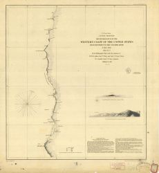Reconnaissance of the Western Coast from Monterey to the Columbia River Photo