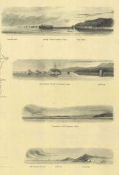 Views of Tatoosh Island and Cape Flattery, Flattery Rocks, Destruction Island, Sail Rock, and Pt Photo