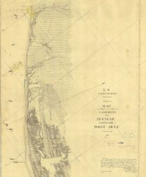 Map of a Part of the Coast of California from Hueneme eastward to Point Mugu Photo
