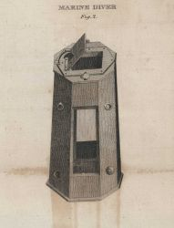 William Scoresby's Marine Diver, used to obtain water samples from below the surface of the ocean Photo