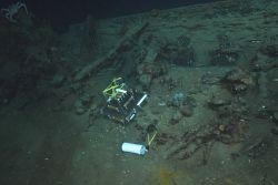 The Green Lantern Wreck, unknown wreck named for lantern artifact Photo