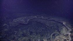 An open lava tube Image