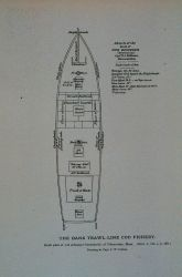 Deck plan of schooner Centennial, of Gloucester Drawing by Capt Photo
