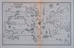 Map of the world on Mercator's projection Showing the extent and distribution of the present and abandoned whaling grounds Prepared by A Photo