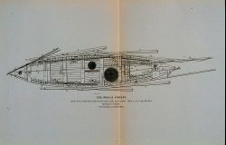 Deck view of whale-boat equipped with apparatus of capture, &c Photo