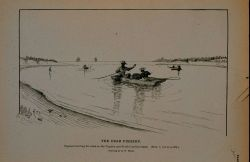 Negroes trawling for crabs on the Virginia and North Carolina coast Drawing by H Photo